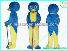 HI EN71 Cartoon Human Blue Penguin Pablo Backyardigans Mascot Costume