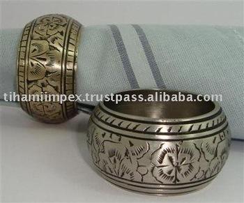 Napkin Rings, Metal Napkin Rings, Wedding Napkin Rings, Tableware, Hotel Supplies
