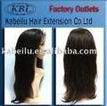 2013 todas las texturas barato 100% 100% brasileña del pelo humano, Jerry curl pelo corto peluca llena del cordón