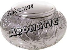 Italia Silver Antique Cremation Urn