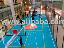 pvc sports floor for indoor basketball court