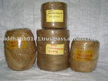 Tarred Manila yarn