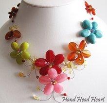 HandMade Fashion Jewelry, Costume Jewelry Gemstones Colorful