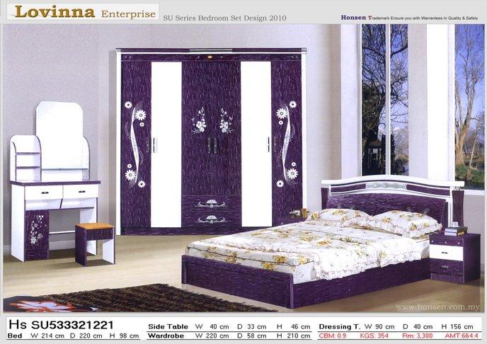 Chambre coucher moderne lots de literie id du produit for Voir les chambres a coucher