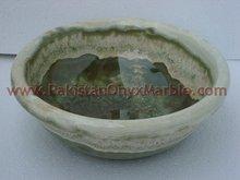 Afghanistan dark green onyx vessel bowl sinks bathroom sink