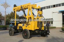 hydraulic top-drive power head drilling rig