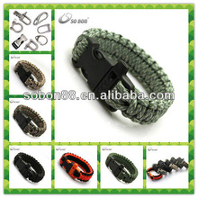 cobra knot paracord tying survival bracelet