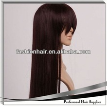 2014 Cheapest Fashion Hair Extensions Cosplay Wig brazilian hair colour chart