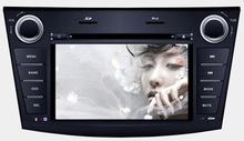 """7"""" digital touch screen car gps dvd player new mazda 3 support bluetooth/usb,sd/ipod/tv"""