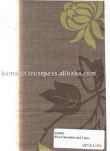 Arthouse Wallpaper Vintage Range Riva Chocolate & Lime 10M