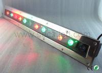 Factory cheap 65CM long 12v 12w RGB led underground light IP67 waterproof outdoor paving light