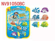 Caldo- la vendita di attrezzatura subacquea gioco di pesca con rete 6 pezzi pesce
