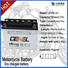 Chongqing Manfacturer 12v battery / batteries for 250cc racing motorcycle