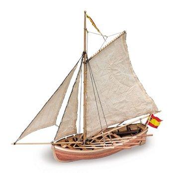 "WOOD SHIP BOAT MODEL KIT ""SAN JUAN NEPOMUCENO Cutter"""