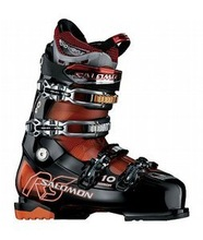 Salomon Mission RS 10 Ski Boots Black/Orange Tran 2010 - Mens