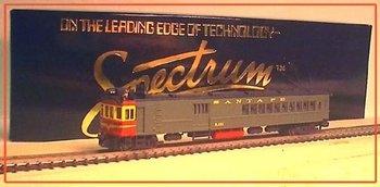 N Scale Doodlebug Locomotive SANTA FE Engine 900