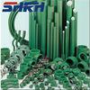 din8077 standard competitve green plastic pipe