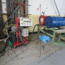 Solar Water Heater Production Line foam oil