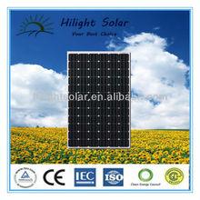 High-efficiency price per watt solar panels with TUV,UL,CE,RoHS,ISO