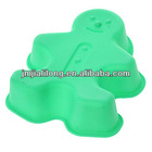 Baking Funny Doll Shaped Silicone Cake Mold
