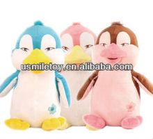 promotional plush penguin stuffed toy