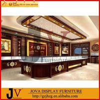 Retro Modest Luxury jewelery showroom kiosk