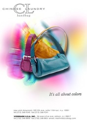 Handbag flyer design