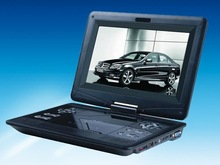 10.1Brand New Portable DVD player with DVD/TV/digital game Functions, Factory
