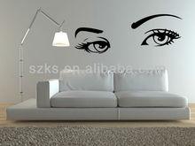 eyes wall art sticker & wall art decal