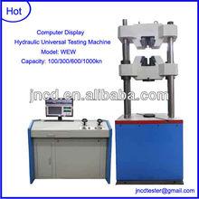 300KN Computer Display Hydraulic Universal Testing Machine+tensile testing machine price