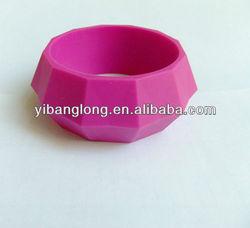 FDA BPA Free Bracelet Bangles Rubber/Safe Bangle Teether