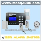 intelligent home systems GSM LCD KEYBOARD Alarm