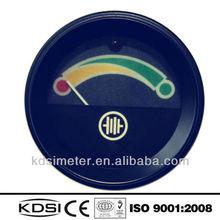 KDSI round black unique moisture tester,vinage moisture register