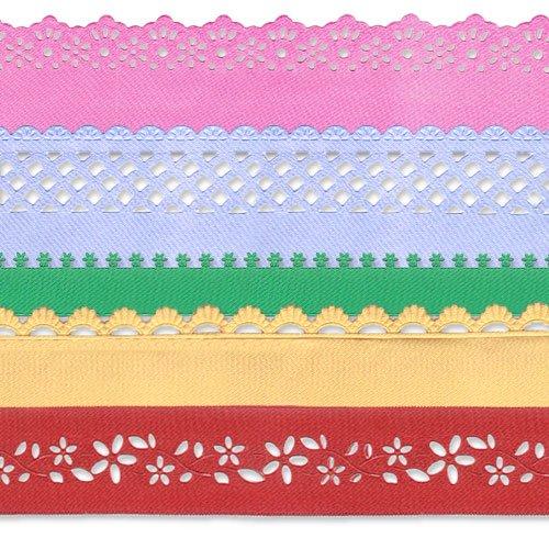 Ornamental e laços fitas de cetim, Lycra, Camurça, Velour
