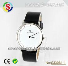 quartz watch, stainless steel watch with genuine leather | watch quartz