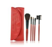 5pcs Professional Mini Travel Makeup Brush Set for Blush Lip Brow Eyeshadow Eye