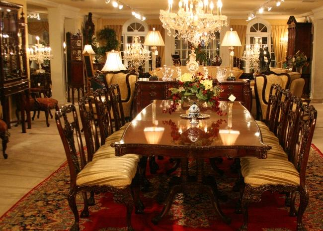 Georgian Lane Dining Room Table And Chair Set For 10 Buy