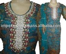 Ladies Fashion wear Shalwar Kameez With Print Shalwar (Item No.IMPEXPOLADIES743)