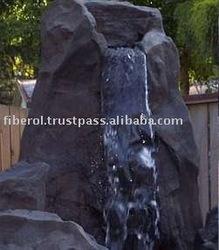 Fiberglass Cave Waterfall