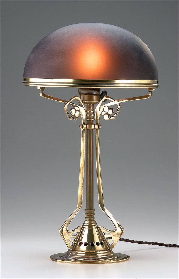 german jugendstil table lamp buy table lamp product on. Black Bedroom Furniture Sets. Home Design Ideas