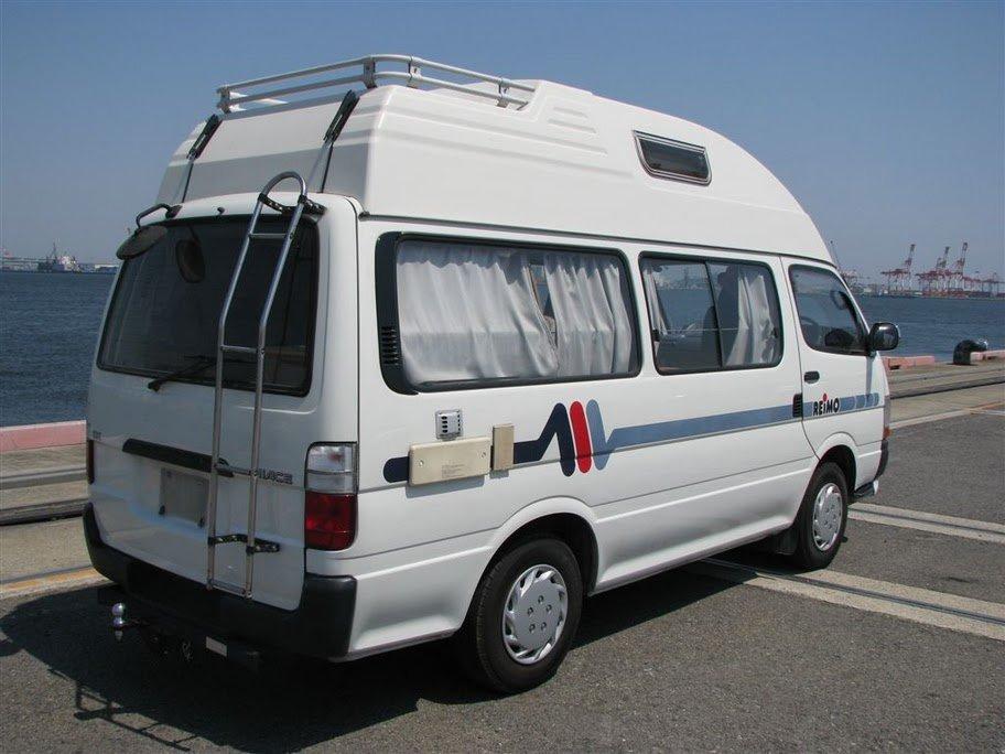 Toyota Hiace Camper Van Motohome By Reimo 2 8 2wd High Top