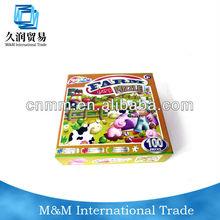 mini jagsaw paper puzzle,paper farm puzzle game