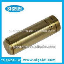 2013 el producto más nuevo telescopio serie con 18650 18350 de la batería, Sigelei piezas de repuesto