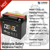 Batteries for Motorcycle 250cc / 200cc / 150cc/ 125cc
