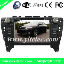 8 Inch In-dash car dvd gps radio for Toyota Camry 2012