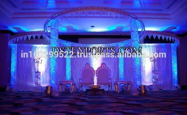 See larger image BEAUTIFUL WEDDING CRYSTAL MANDAP