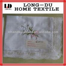 hand embroidery handkerchief