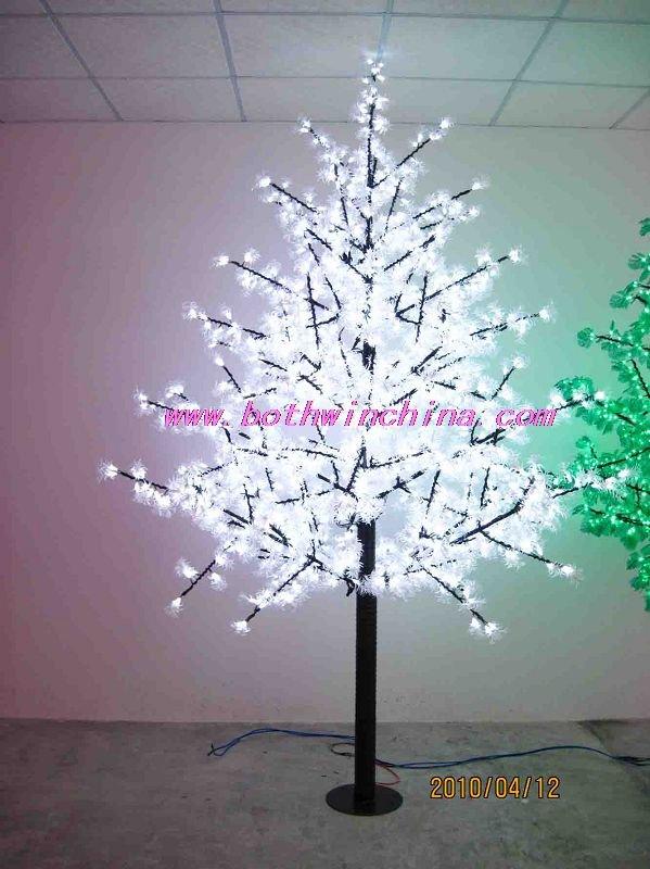 Led hermoso árbol de navidad del árbol del paisaje luz