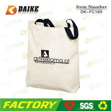 High Quality Eco Canvas Designer Bag Shopping DK-FC169