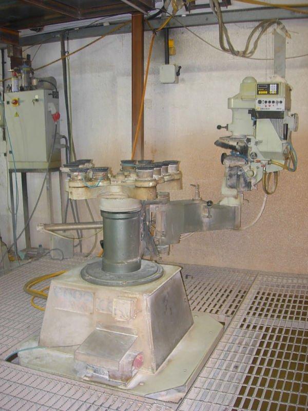 Sb 10 Z Bavelloni cristal biselado de la máquina